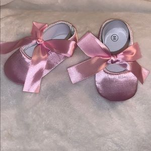Other - Satin Baby Shoes